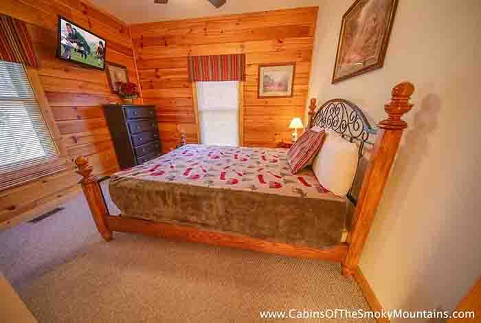 pigeon forge cabin mystic mountain 3 bedroom sleeps