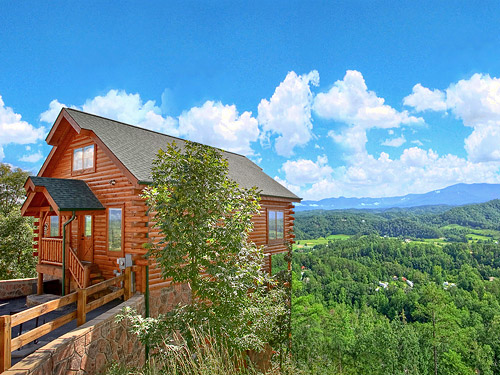 Pigeon forge cabin the grand legacy 2 bedroom sleeps 10 for Discount smoky mountain cabin rentals
