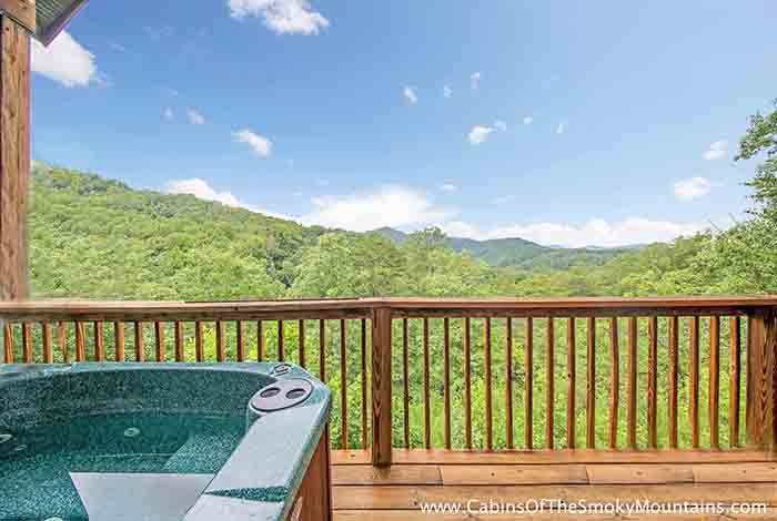 Pigeon Forge Cabin Paradise View 2 Bedroom Sleeps 12 Jacuzzi Swimming Pool Access