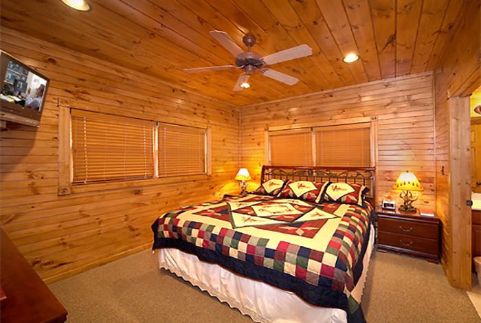 Gatlinburg Cabin Pinnacle View 1 Bedroom Sleeps 8