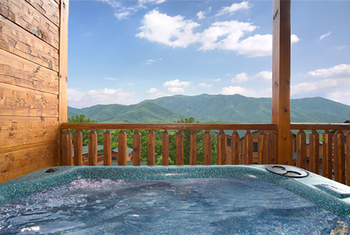 in the best a smoky s tub view blog cabins dart cabin cupid at hot for cupids mountains of from gatlinburg with bedroom one