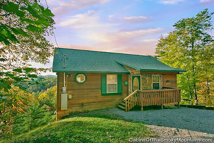 Pigeon forge cabin pleasant surprise from for Pigeon forge cabin coupons