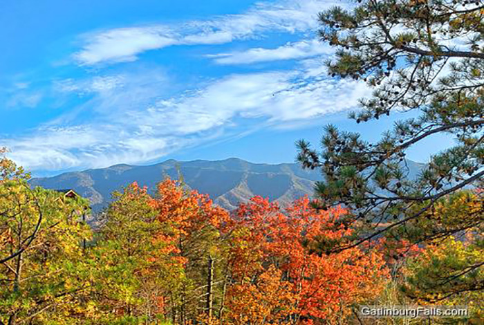 Gatlinburg cabin pointe of view 2 bedroom sleeps 8 for Www cabins of the smoky mountains com