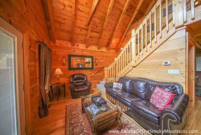 Gatlinburg Cabin Pools Rush Inn 1 Bedroom Sleeps 4