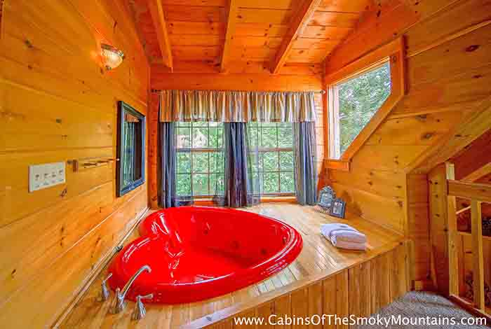 Gatlinburg Cabin Pools Rush Inn 1 Bedroom Sleeps 4 Jacuzzi Swimming Pool Access