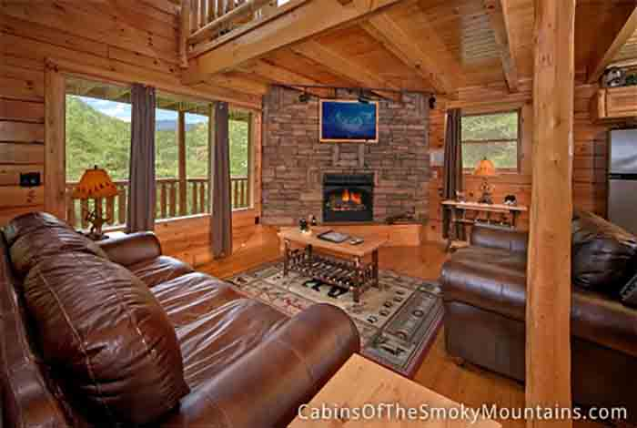 Pigeon forge cabin deer crossing from for Pigeon forge cabin coupons