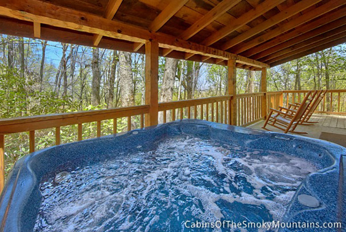 Pigeon Forge Cabin Privacy Peak From 105 00