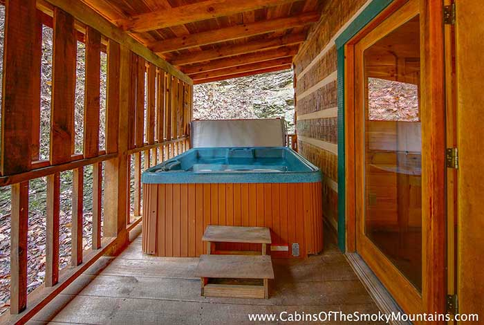 pigeon forge cabin pure country 1 bedroom sleeps 4 jacuzzi