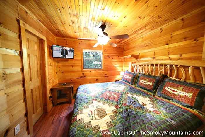Pigeon Forge Cabin Dolly 39 S Hideaway 2 Bedroom Sleeps 6