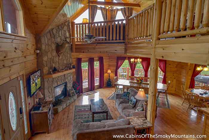 5 7 bedroom cabins in gatlinburg pigeon forge tn Getawaycabins com