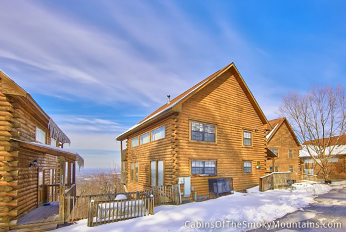 Pigeon forge cabin pure gold 1 bedroom sleeps 4 for Eagles view cabin sevierville tn