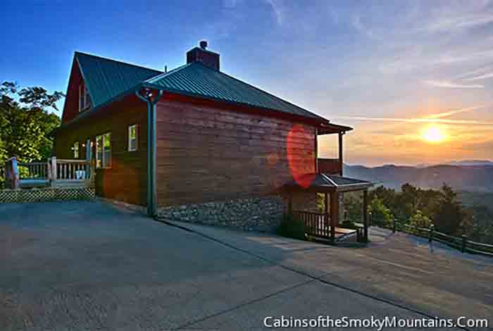 Pigeon Forge Cabin Eagle Lodge 6 Bedroom Sleeps 24