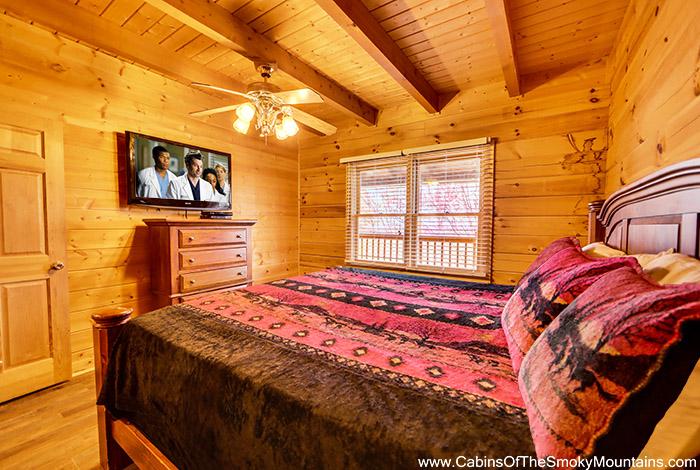 Pigeon Forge Cabin Eagle View 2 Bedroom Sleeps 12