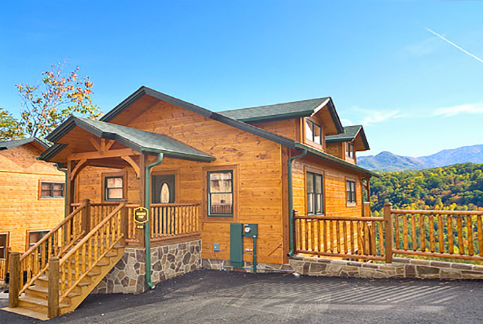 Gatlinburg cabin rocky top from for 1 bedroom pet friendly cabins in gatlinburg tn