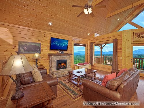 Gatlinburg cabin soaring high 1 bedroom sleeps 4 - 1 bedroom cabin in gatlinburg tn ...