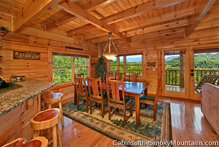 Pigeon Forge Cabin Running Bear From