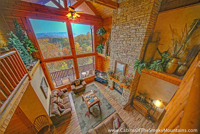 Pigeon Forge Cabin - Heaven\'s Hidden View - 6 Bedroom - Sleeps 24 ...