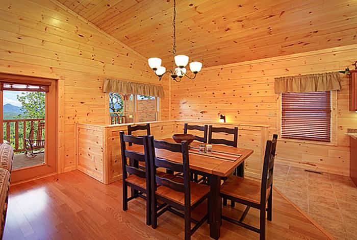 Gatlinburg cabin smoky mountain heaven 1 bedroom - 1 bedroom cabins in smoky mountains ...