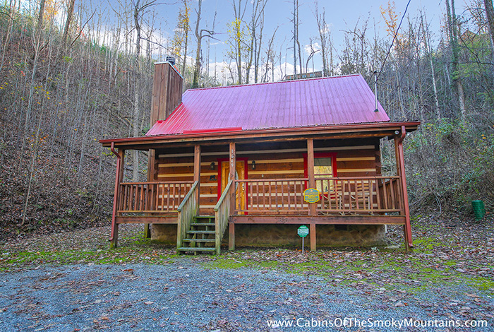 Pigeon Forge Cabin Smoky Mountain Hideaway 1 Bedroom Sleeps 2