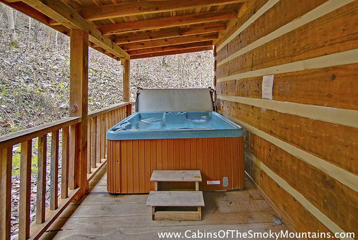 Pigeon Forge Cabin Smoky Mountain Hideaway 1 Bedroom Sleeps 2