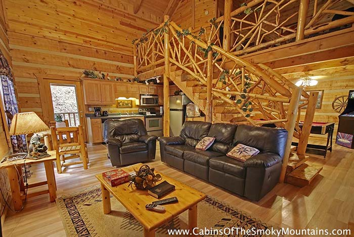 picture of Smoky Mountain Hideaway cabin