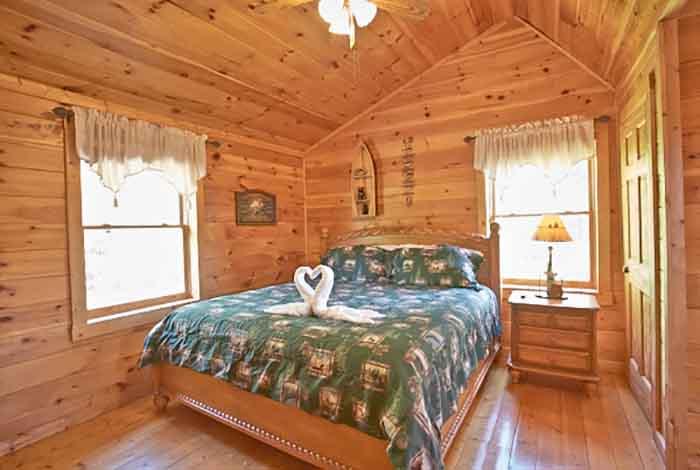 Pigeon Forge Cabin Smoky Mountain Magic 4 Bedroom Sleeps 12