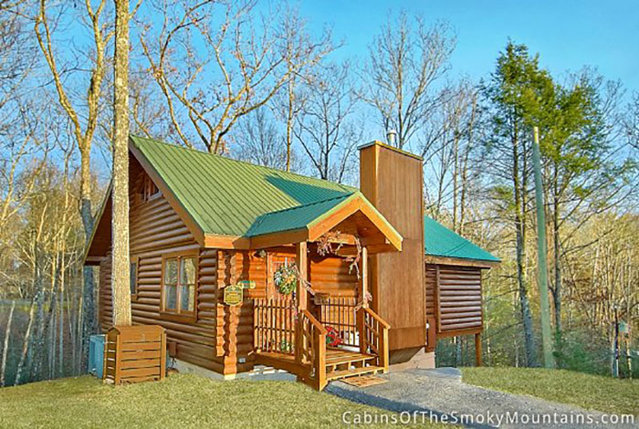 Gatlinburg cabin smoky mountain memories 1 bedroom for Cabin rental smokey mountains
