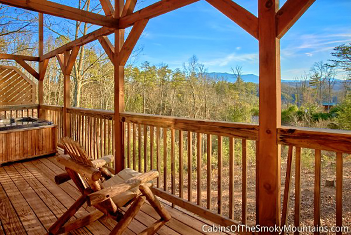 Pigeon Forge Cabin Heaven S Perch 1 Bedroom Sleeps 6