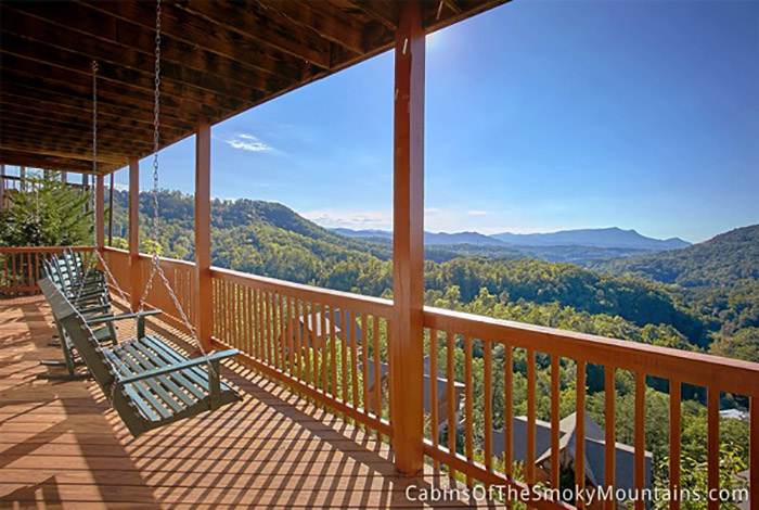 Pigeon forge cabin heavenly view from for Pigeon forge cabin coupons