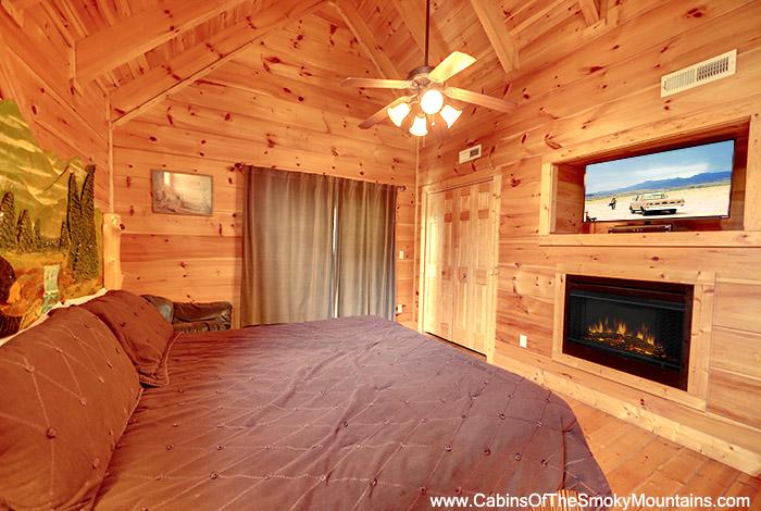 Pigeon Forge Cabin Hidden Bear Lodge 5 Bedroom Sleeps 14