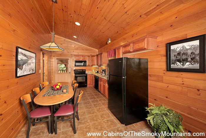 Gatlinburg cabin forever young 1 bedroom sleeps 6 for Gatlinburg cabins for couples