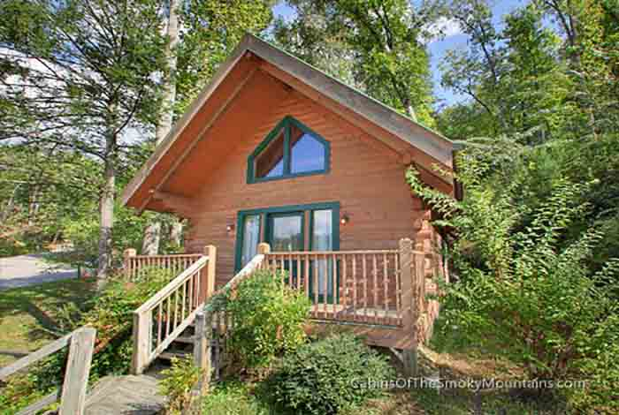Gatlinburg cabin honeymooner 39 s joy 1 bedroom sleeps 2 for Smoky mountain tennessee cabin rentals