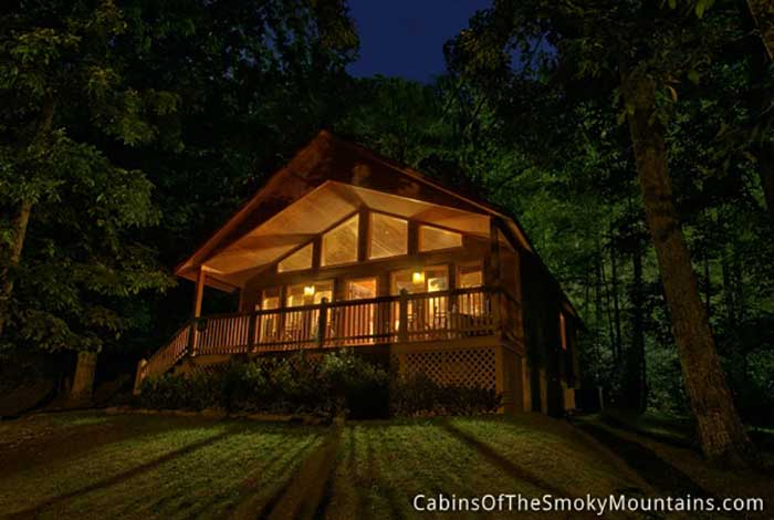 Cabin In The Woods : Pigeon forge cabin in the woods from