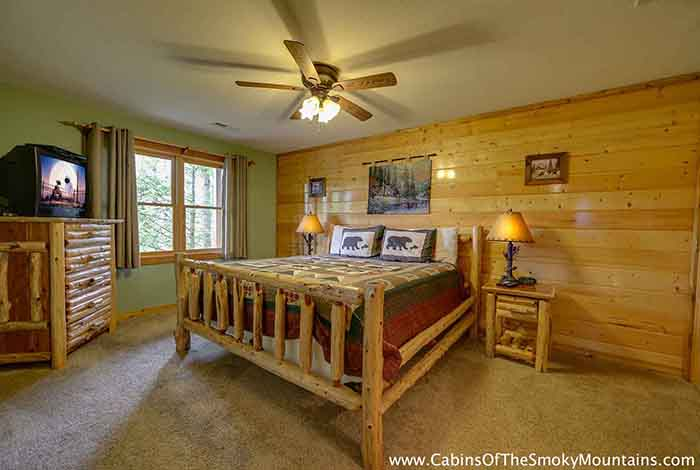 Pigeon Forge Cabin Smoky Top Lodge 4 Bedroom Sleeps 15