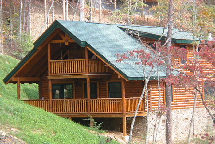 gatlinburg cabin southern comfort 1 bedroom sleeps 6 jacuzzi