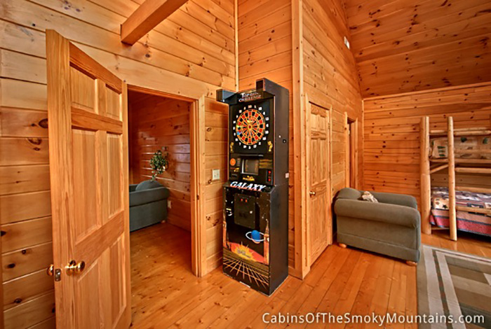 Pigeon forge cabin splash mountain 7 bedroom sleeps - 7 bedroom cabins in pigeon forge ...