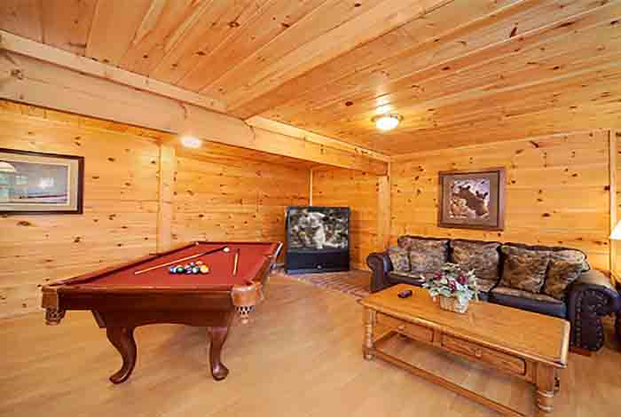 Gatlinburg Cabin Sweet Mountain Dreams 5 Bedroom