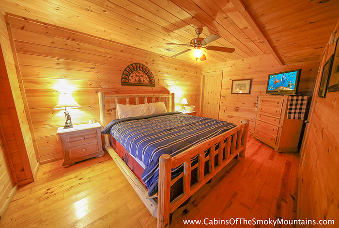Pigeon Forge Cabin The One 2 Bedroom Sleeps 11