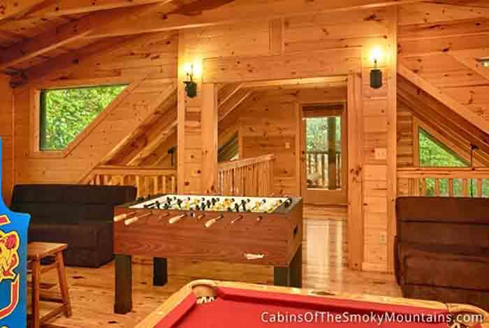 Gatlinburg cabin lovin 39 it 1 bedroom sleeps 6 - Gatlinburg falls resort swimming pool ...