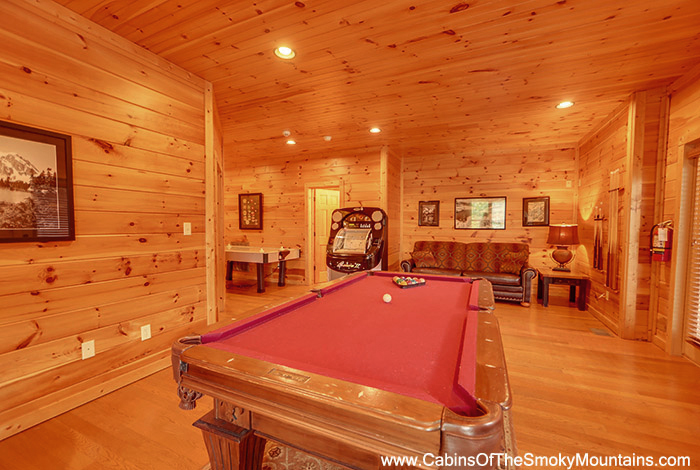 Gatlinburg cabin time well wasted 4 bedroom sleeps - Gatlinburg falls resort swimming pool ...