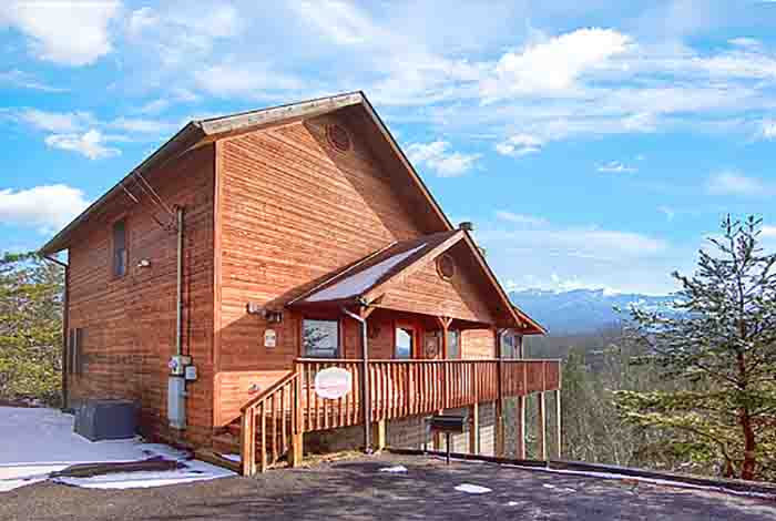 Pigeon Forge Cabin Misty Mountain View 1 Bedroom Sleeps 6