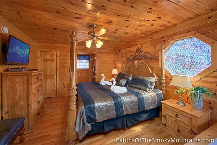 Pigeon Forge Cabin Moon Dancer 4 Bedroom Sleeps 12