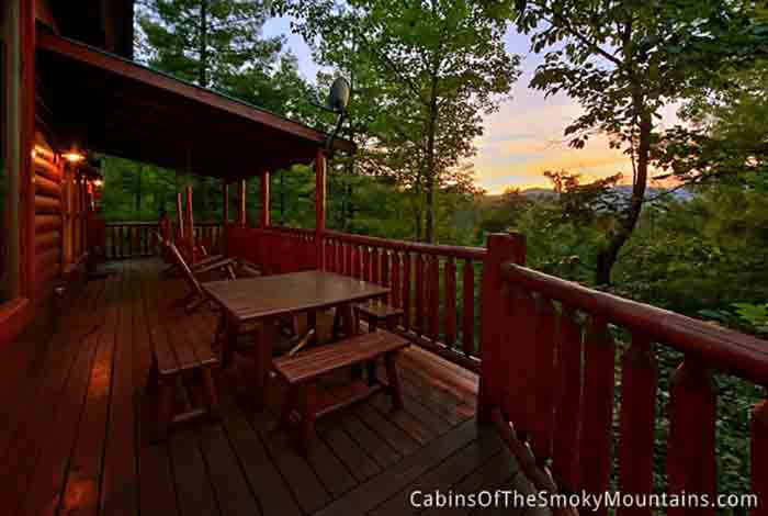 Pigeon forge cabin moose manor from for Pigeon forge cabin coupons