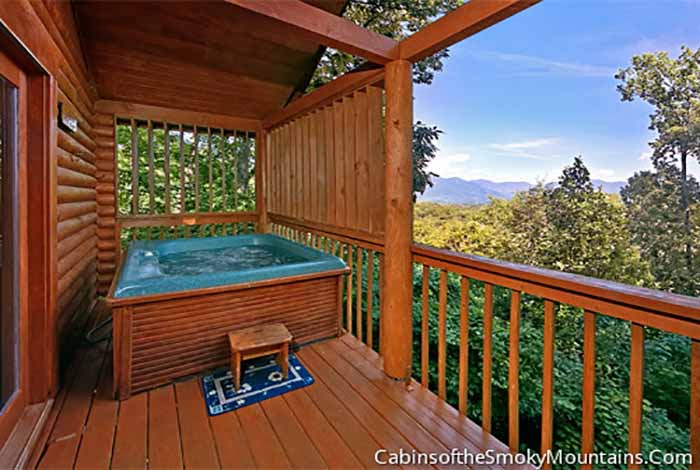 Gatlinburg Cabin Tranquility 1 Bedroom Sleeps 4