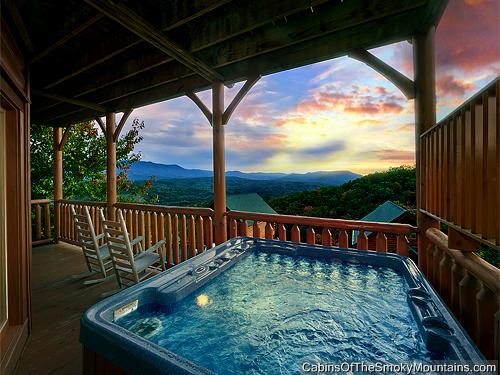 Pigeon Forge Cabin Highlander 2 Bedroom Sleeps 8 Jacuzzi Swimming Pool Access Pet