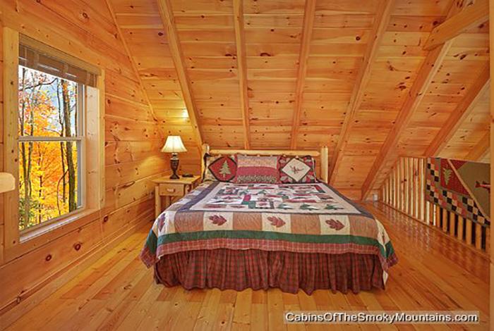 Gatlinburg Cabin Up Away 3 Bedroom Sleeps 10
