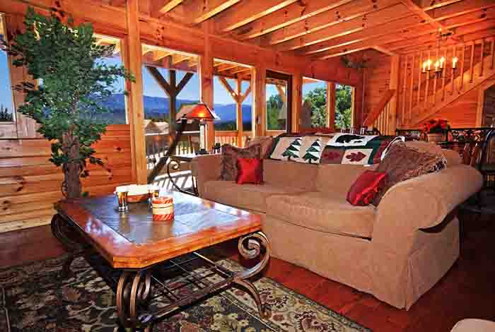 Pigeon forge cabin mountain jewel from for Pigeon forge cabin coupons