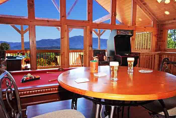 Pigeon Forge Cabin Mountain Jewel 1 Bedroom Sleeps 8