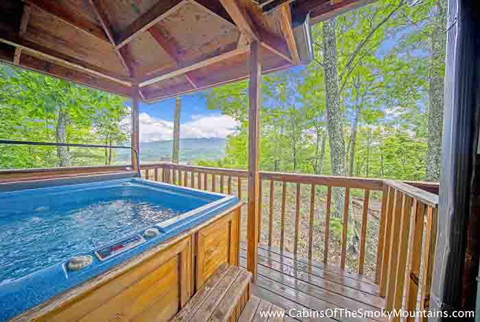 Gatlinburg Cabin - View From the Top - 3 Bedroom - Sleeps 10 ...