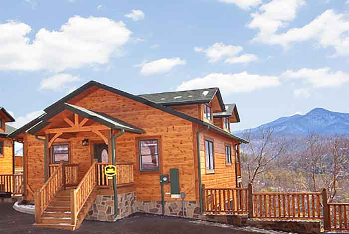 Gatlinburg cabin view master 2 bedroom sleeps 8 for 8 bedroom cabins in gatlinburg